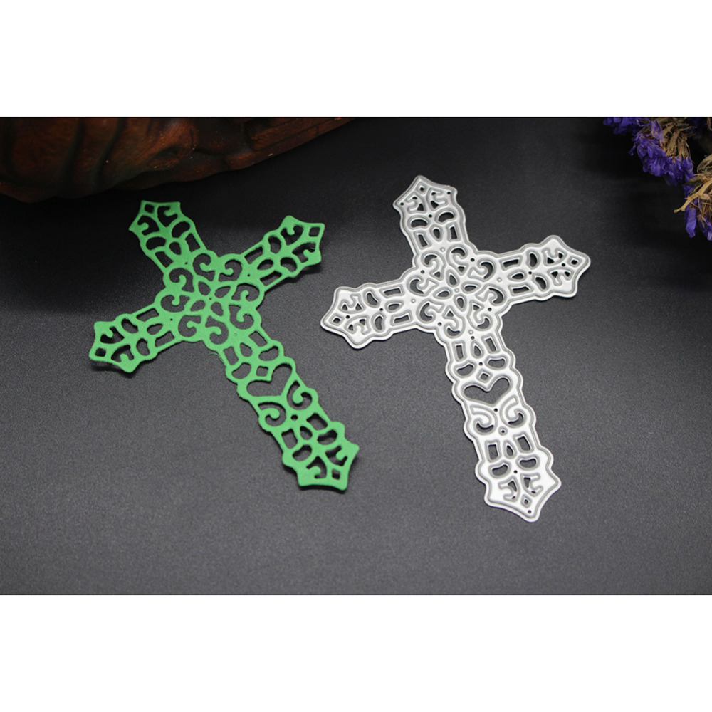 christian cross style metal cutting die stencils for diy scrapbooking stamp photo halloween decorative embossing diy - Christian Halloween Decorations