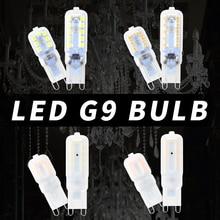 8PCS Mini G9 LED 220V LED Bulb 2835 SMD Bombilla LED G9 Corn Lamp Spotlight For Crystal Chandelier Replace 30W 40W Halogen Light цена в Москве и Питере