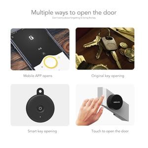 Image 3 - Sherlock Wireless Door Lock Keyless Smart Lock Fingerprint + Password Integrated Electronic Lock Bluetooth Control With 1Pc Key