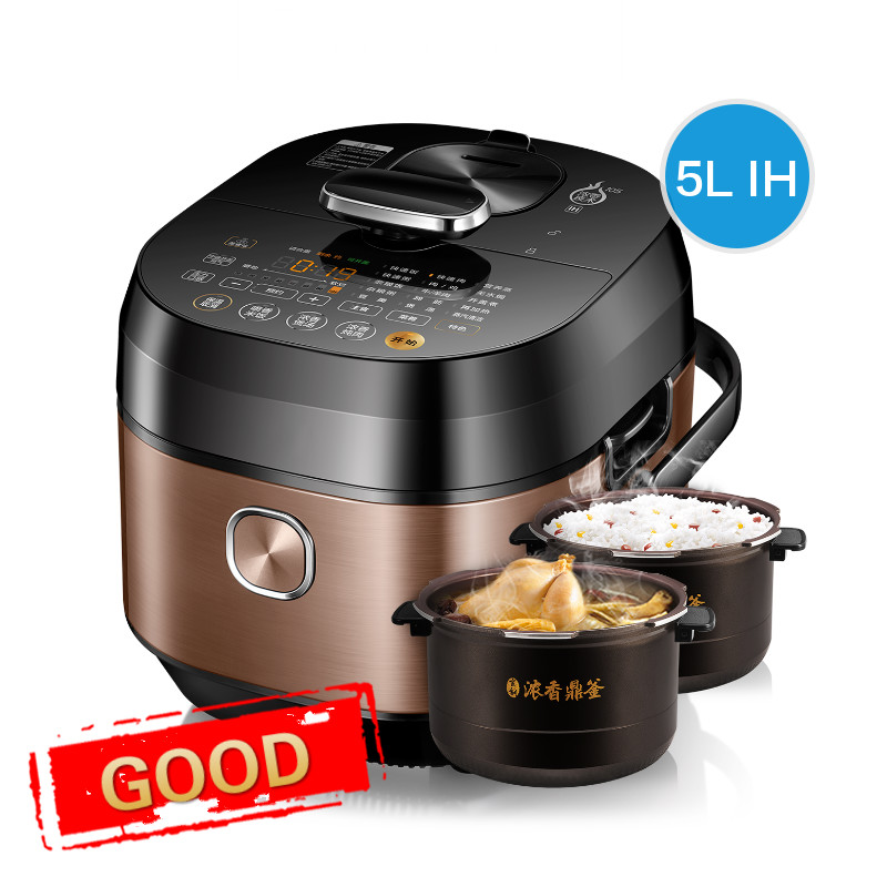 Electric Pressure Cookers pressure cooker 5L household IH high and rice cooker. electric pressure cookers electric pressure cooker double gall 5l electric pressure cooker rice cooker 5 people