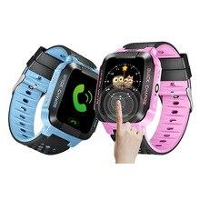 Crianças GPS Relógios Inteligentes GSM Smartphone Baby Anti-perdida Bluetooth Inteligente Eletrônico GPS Wearable Pulseiras para Crianças Grande Presente