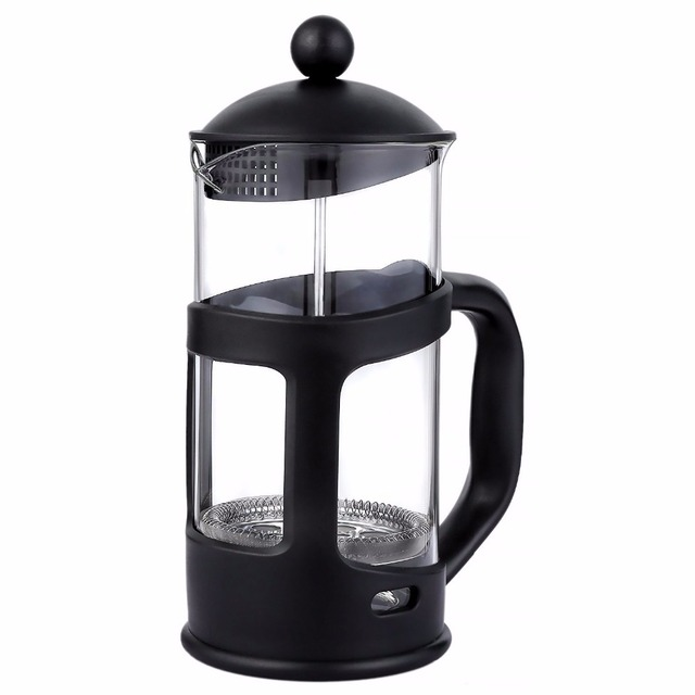350ml French Press Coffee Tea Maker Teapot With Stainless Steel Filter