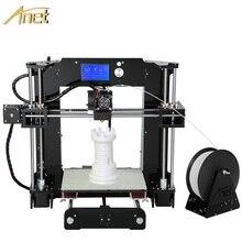 11.11 Продвижение Anet Большой Размер Печати 3d-принтер машина Точности Reprap Prusa i3 DIY Kit 3d-принтер С Бесплатными Нитей
