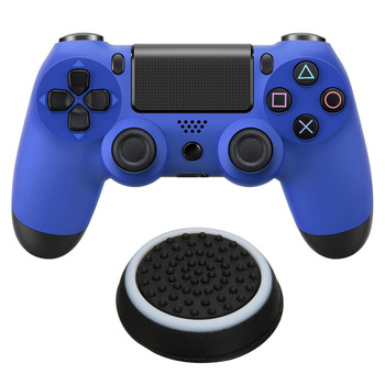 VKTECH 2pcs Anti Skid Game Controller Joystick Button Caps for PS4/PS3/Xbox Gamepad Control Button Caps Protects Your Controller image