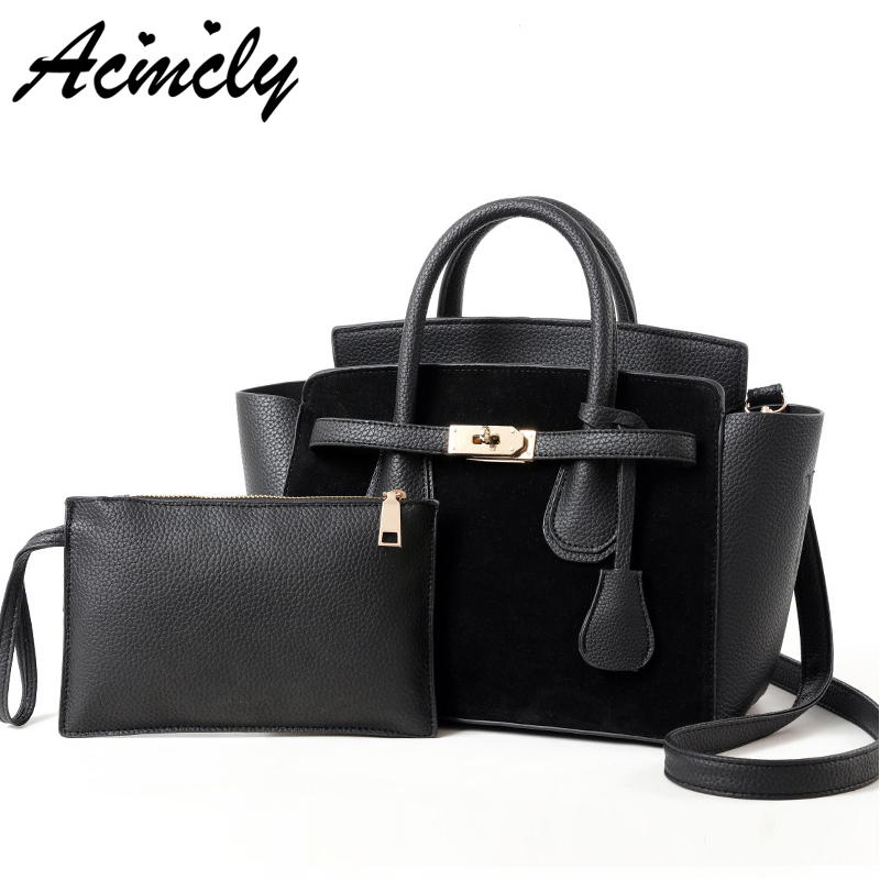 Women Handbags Famous Brand Hot Ladies Shoulder Bags Luxury Pu Leather Women Top-handle Bags Female Tote Composite Bag a3238/o 2017 famous brand large soft leather bag women handbags ladies crossbody bags female big tote green top handle bags sac a main