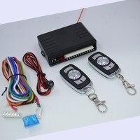 Centrale Vergrendeling Kit Met 2 Afstandsbediening Auto Afstandsbediening Centrale Auto Alarmsystemen Deurslot Voertuig Keyless Systeem