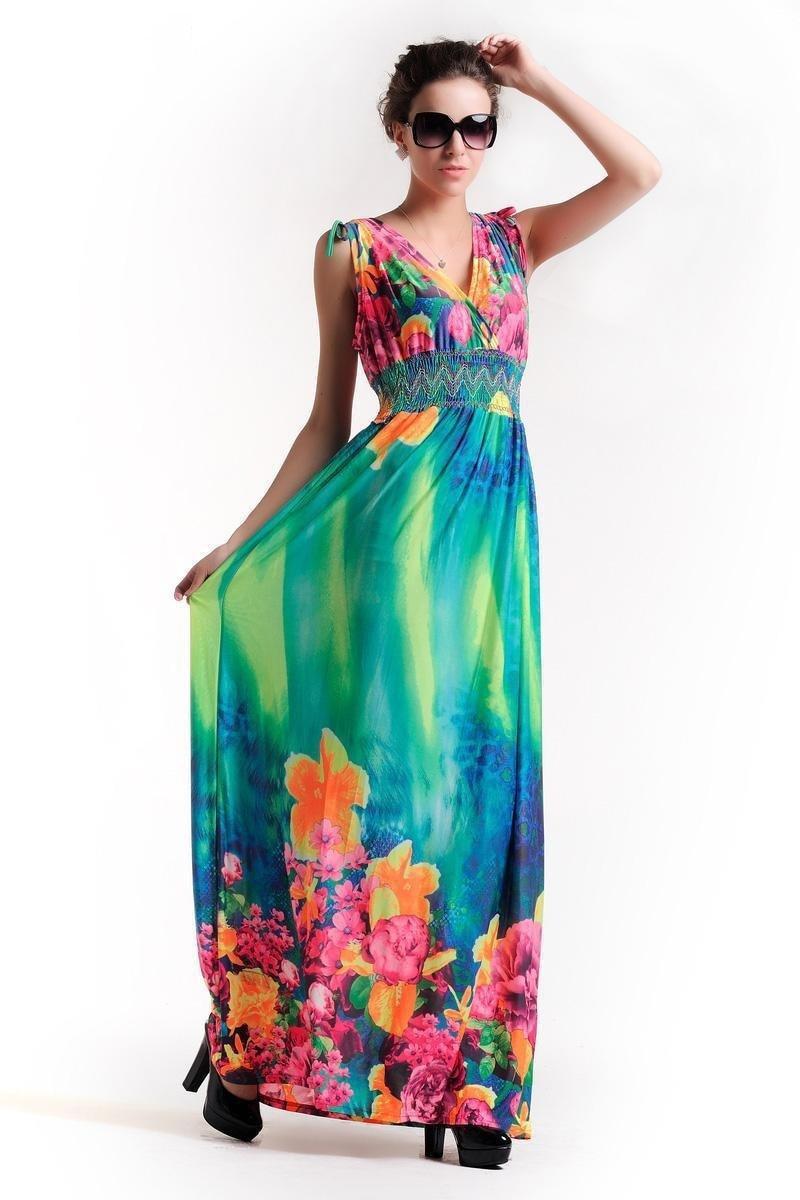 2016 Summer Women Long Party Dresses Dress Casual