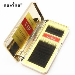 fe8aef7f239 Navina 3 In 1 Mixed Length False Eyelash Extension Mink Lashes Black Thick  Lashes Inovation VIP