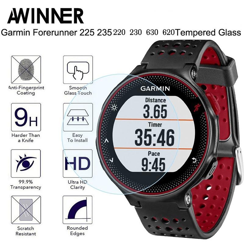 For Garmin Forerunner 235 Tempered Glass 9H 2.5D Premium Screen Protector Film For Garmin 235/225/230/220/620/630 Smart Watch умные часы smart watch y1