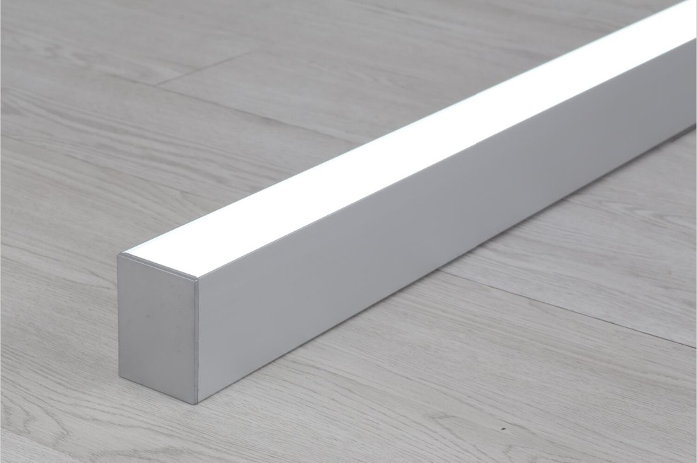 Free Shipping Indoor Office Led Linear Light 20w 40w 50w 60w Surface Or Suspend Mounted LED Linear Light Highbay