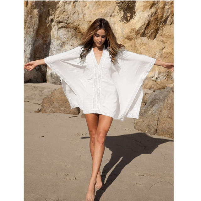 22b0704b6e7 Online Shop New Arrivals Beach Caftan Swimsuit Cover up Chiffon Pareo Women  Robe Plage Swimwear Dress Sexy Sarong Beach Tunic