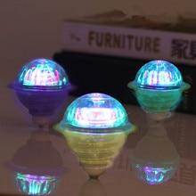 Светится в темноте игрушка люминесцентные трения гироскоп красочные флэш-Магия гироскопа светодиодный интерес детей взаимодействия подарок