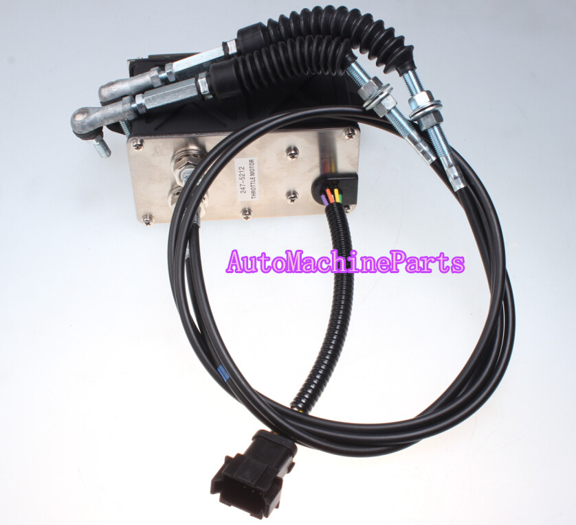 Governor throttle Motor 247-5213 for 320C 320C 323DL 323DLN 323DS Excavator excavator starting wiper motor governor assy pc60 7 pc78us pc70 7 for komatsu governor motor excavator electric parts
