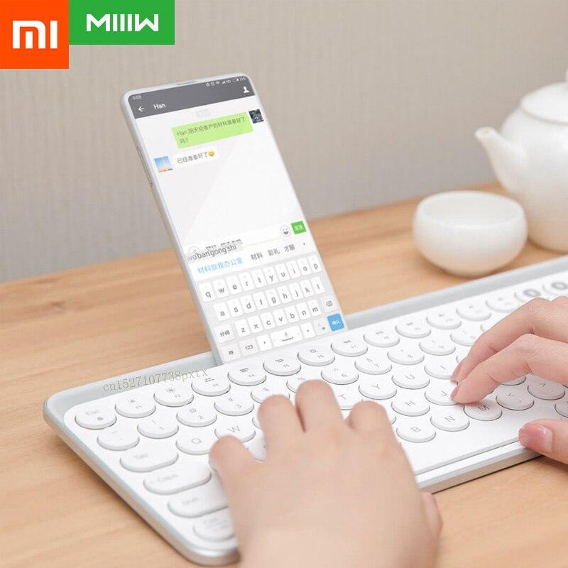 Original Xiaomi Miiiw Bluetooth Dual Mode Keyboard MWBK01 2 4GHz 104 Keys Multi system Compatible MI