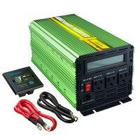 US standard 2000 / 4000 watt DC 12V AC 110V 120V 60Hz solar inverter converter power inverter with remote controller