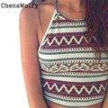 ChenaWolry 1 UNID Ventas Calientes Atractivas de Lujo Nuevo de Las Mujeres de Boho Tanque Tops Camisa Blusa Cami Bustier Chaleco Sujetador Bralette Cosecha de Noviembre 7