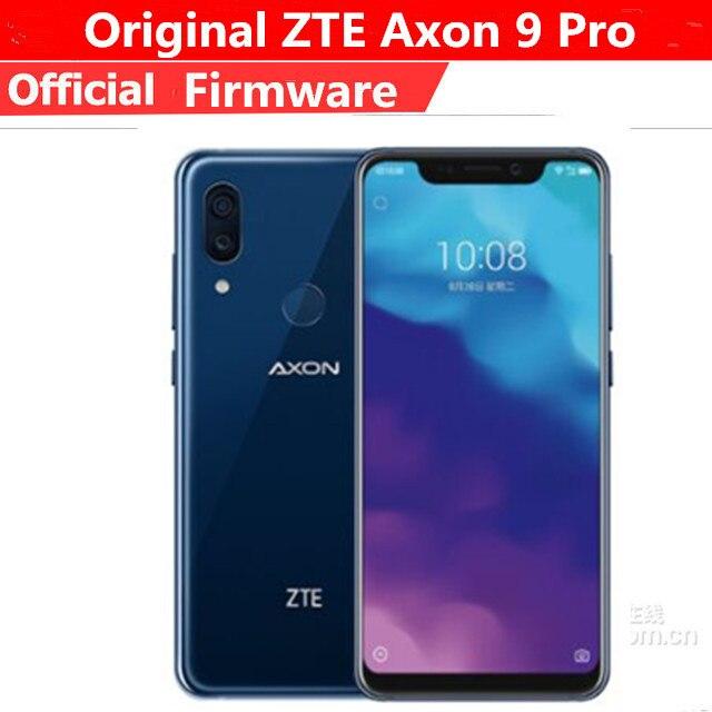 Original ZTE Axon 9 Pro 4G LTE Mobile Phone Snapdragon 845 Android 8.1 6.21