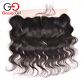 Indian Virgin Hair Body Wave Frontal Lace Frontals With Baby Hair 13x4 Lace Frontal Closure No Tangle No Shedding Top Selling