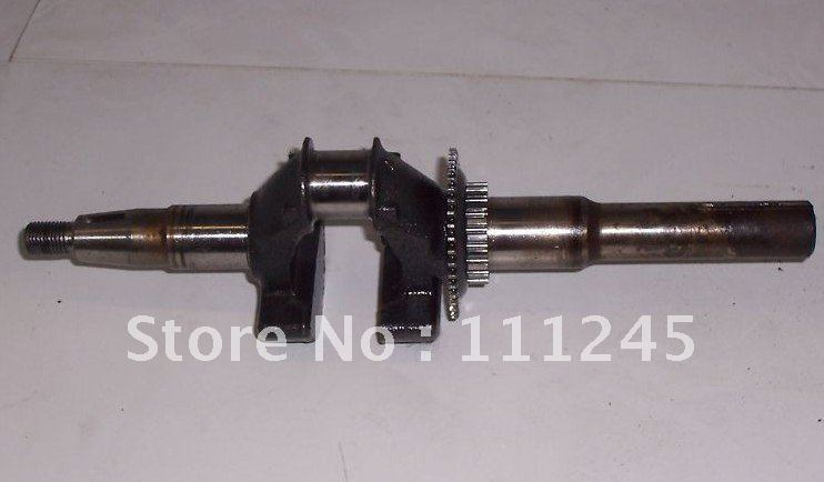 crankshaft forging steel q type fits honda gcv160 5 5hp. Black Bedroom Furniture Sets. Home Design Ideas