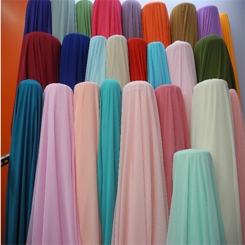 0598c27ec3 Chiffon fabric soft fabric for dress lining cloth material 100d georgette  fabrics wedding DIY-in Fabric from Home & Garden on Aliexpress.com |  Alibaba Group