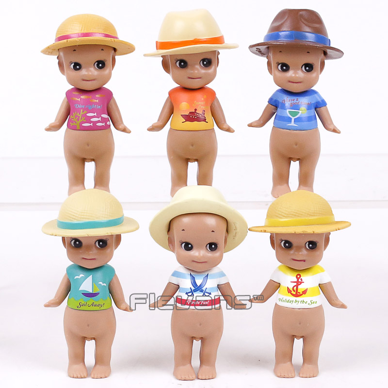 Sonny Angel Summer series Caribbean Sea version Mini PVC Action Figures Collectible Model Toys 6pcs/set 8cm банка для сыпучих продуктов sinoglass подсолнухи тосканы большая page 2