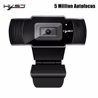 HXSJ webcam HD Camera 5 Million AF Camera HD web cam Support 1080P 720P for Video Conferencing and Android Smart TV