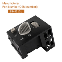 93443101 For 95 2000 GMC Tahoe Suburban Silverado Sierra Headlight Dimmer Switch 15687019/15741153 DS876/15013005