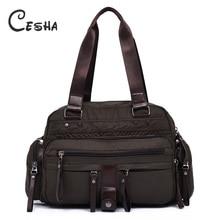 Fashion Vintage Multi pockets Women Handbag High Quality Durable Waterproof Light Casual Tote Large Capacity Female Shoulder Bag