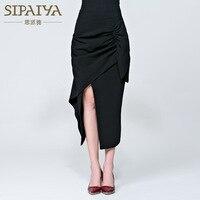 New Brand Designer Sexy Split Black Sheath Bodycon Skirt High Waist All match One step Skirt Korean Style Elegant Vestido Longo