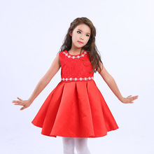 Mitun new princess dress skirt skirt girls dress in Europe and the children's clothing manufacturers selling Christmas