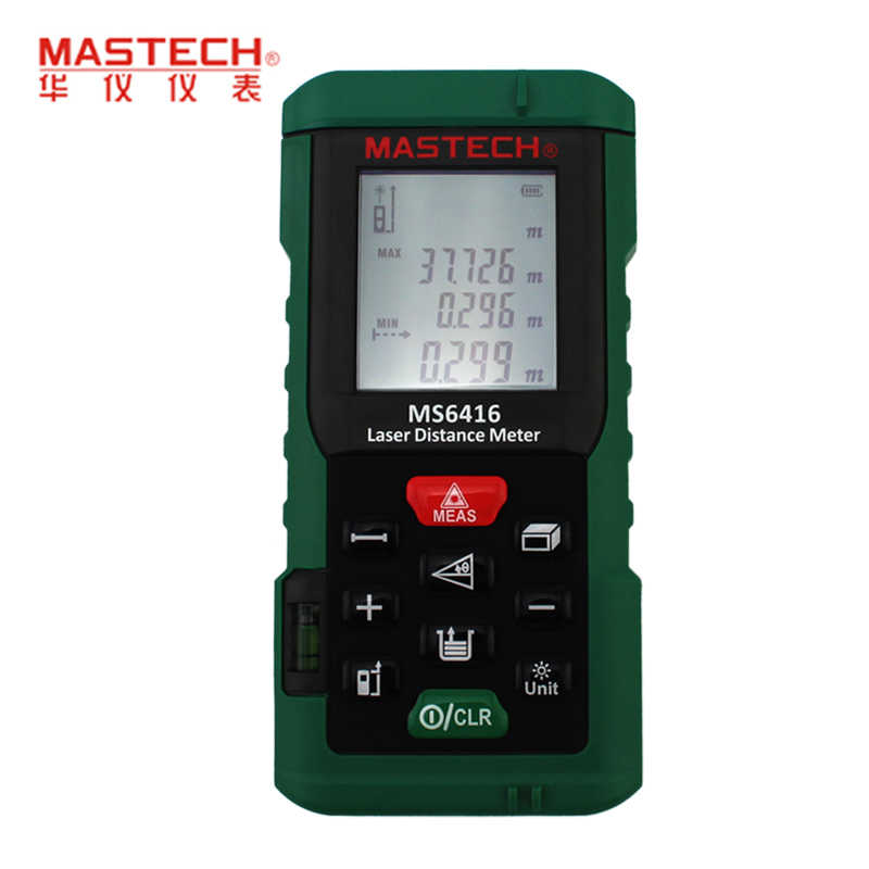 ФОТО Original MASTECH MS6416 60m Laser Distance Meter Rangefinder Tape Measure Level Tool