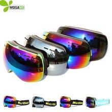 WOLFBIKE Ski snowboard Outdoor Sports Snowboarding Skate Goggles Snow Skiing Sun Glasses Eyewear UV400 Protection ski goggles