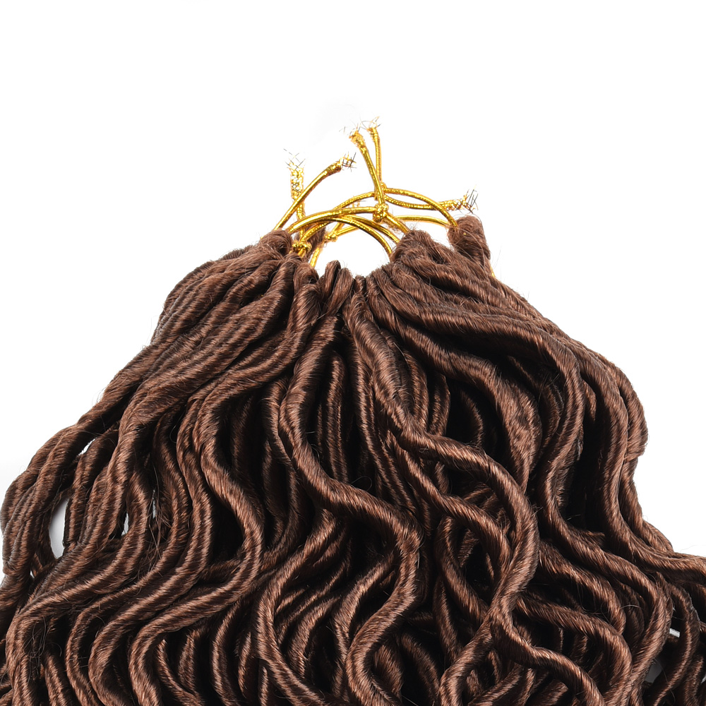 Curly Faux Locs Extension