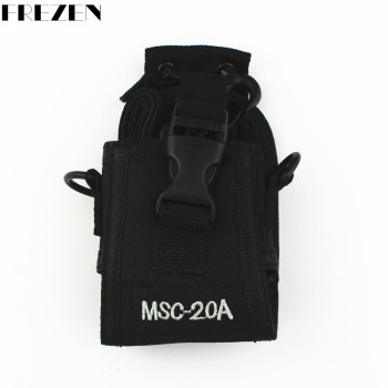 Baofeng Radio Case MSC-20A/B/C/D Holder Pouch Nylon For Motorola Kenwood Walkie Talkie TWO Way BAOFENG UV82 UV-82 8D GT-3