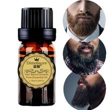 Dimollaure Bărbați bărbați creștere de ulei de păr intensificator de ser Mustache sideburn Piept de creștere piept femei Genele sprânceană Creșterea mai gros