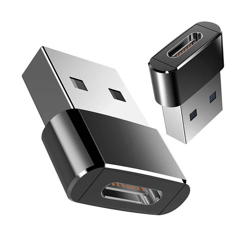 Externe Naar Type C Vrouwelijke OTG Connector Adapter USB 2.0 Male USB C Kabel Mini Adapter