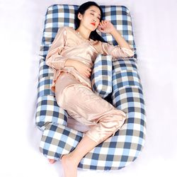 G-Form Schwangere Frauen Side Schlaf Kissen Bein Taille Unterstützung Cartoon Kissen Komfortable Mutterschaft Körper Kissen 190*80*20 cm