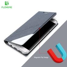 Floveme чехол для Samsung S8 плюс S6 S7 край кожаный чехол для Samsung Galaxy S6 S7 край S8 плюс Примечание 5 бумажник держателя карты Чехол