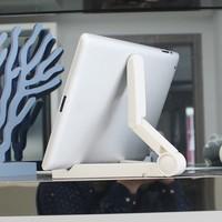 4 2 Folding Universal Tablet Bracket Stand Holder Portable Lazy Pad For iPad 2/3/4 iPad Air 1/2 iPad Mini Samsung Xiaomi (5)