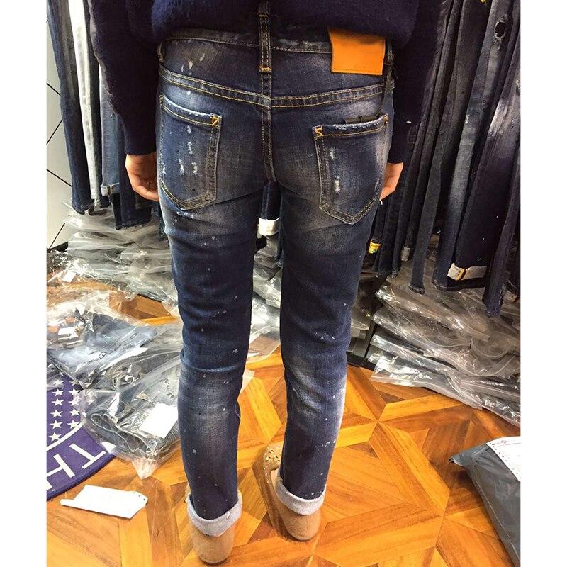 Heißer Verkauf 2018 Sommer Jeans für Frauen Loch Mode Zerrissenen Jeans Frau Harajuku Druck Pantalon Femme Stretchhose Neue-in Jeans aus Damenbekleidung bei  Gruppe 3