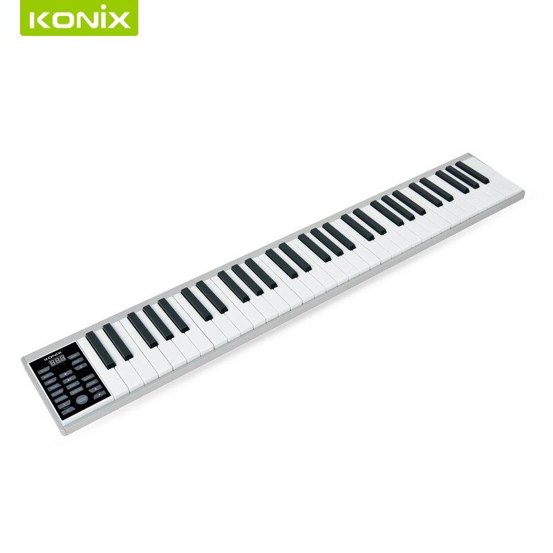 Высокое качество Смарт электронное пианино с 61 клавишей и MIDI клавиатурой