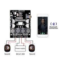 TPA3118 2x30W 8 26V DC Stereo ses Bluetooth 5.0 dijital güç amplifikatörü kurulu amplifikatörler