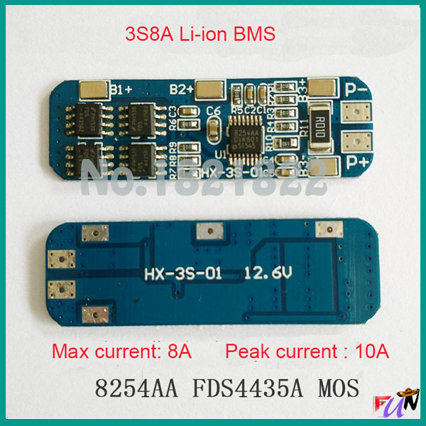 Schema Collegamento Bms : Aliexpress kup s a li ion v bms pcm battery