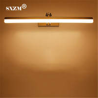 SXZM 9W 12W 39cm 49cm LED mirror light AC85 265V waterproof SMD2835 high quality for bathroom led lighting wall mounted