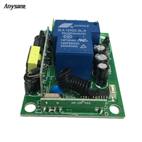 Universal RF 433MHz 315MHz Remote Relay Switch AC 85 250 V 30A Rf Relay Support 3000W