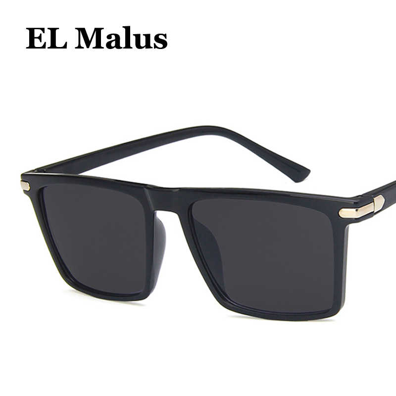 d1b6ebd54b  EL Malus Retro Square Frame Sunglasses Mens Women Pink Dark Green Lens  Leopard Shades