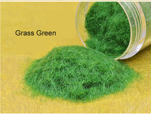 DIY manual outdoor landscape construction sand table model material turf lawn grass green nylon powder