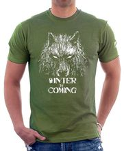 2017 New Arrivals Got Game Of Thrones winter is coming Westeros printed t shirt  males t shirt informal tops