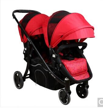 HK free High quality export baby twin stroller purple 4 colors in stock four season use twin kids baby car термобутылка asobu twin lid 0 4 л желтая фиолетовая twg1 lime purple