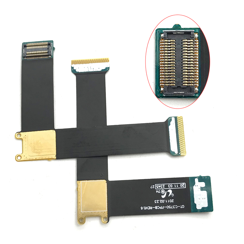 Compatible For Samsung C3750 C3752 Flex Cable GT-C3750 GT-C3752 LCD Display Connector Main Motherboard Flex Cable Repair Parts